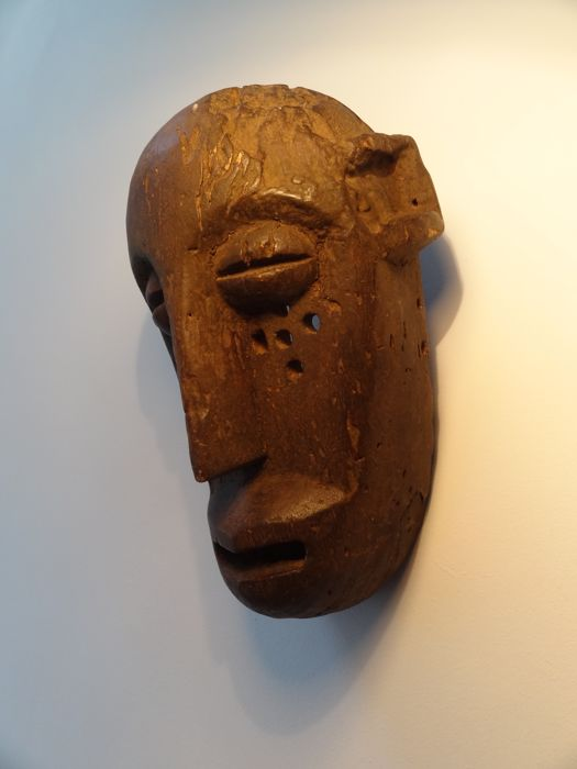 Very old Koré monkey mask, Sula - BAMANA - Mali
