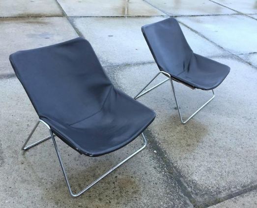 Pierre Guariche for Airborne - set of two G1 armchairs