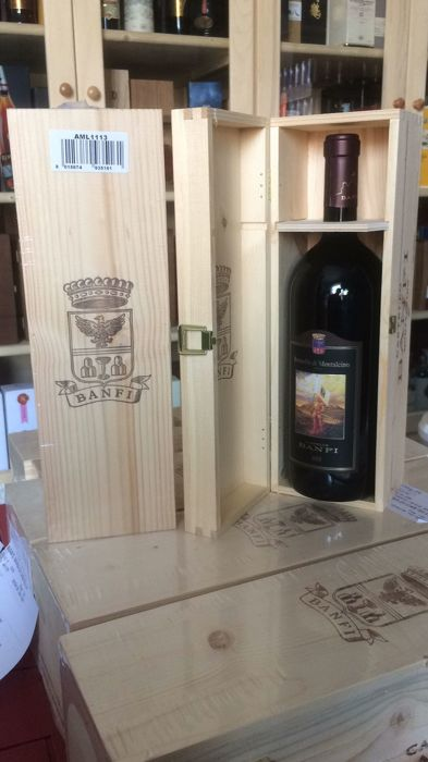 2013 Castello Banfi - Brunello di Montalcino Docg - 2 x Magnums (150 cl) in Single Sealed OWC