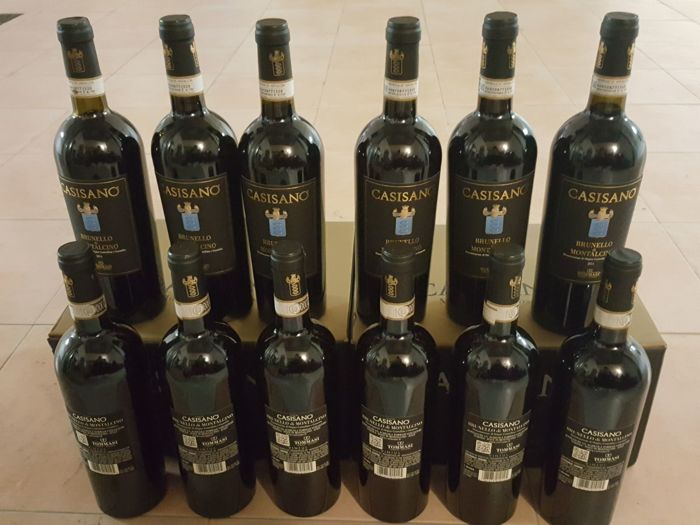 2011 Fattoria Casisano - Colombaio Brunello di Montalcino Tuscany - 12 bottles in total (75 cl)