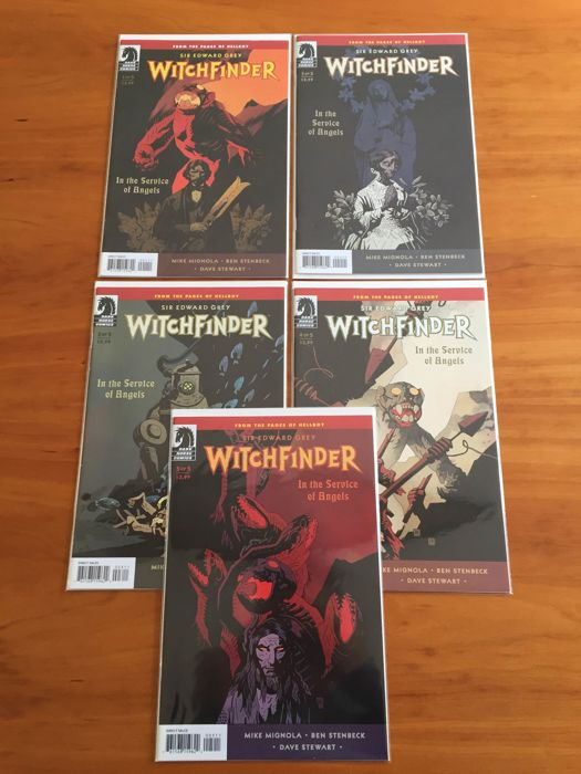 Mike Mignola's 'Witchfinder' - complete run #1 t/m 10, Dark Horse Comics, 2009-2011 + 'Baltimore' - complete run #1 t/m 18, Dark Horse Comics, 2010-2014