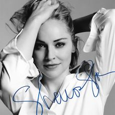 Sharon Stone sex symbol and actress  signed / autographed photo with Certificate of Authenticity by PSA/DNA