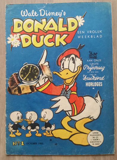 Donald Duck Weekblad No. 1 - sc - 1st edition (1952)