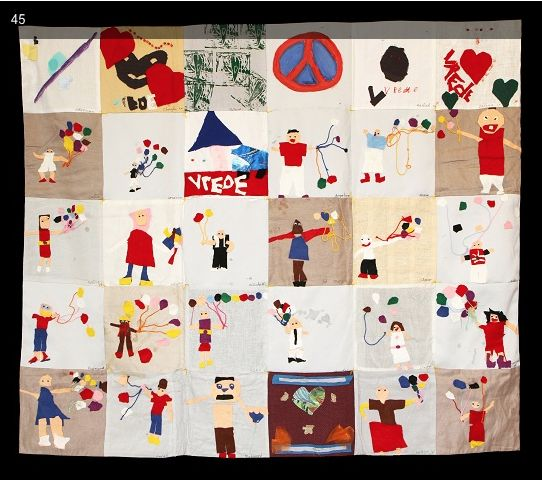 Art - Handmade Tapestries: for War Child-NL - No 5