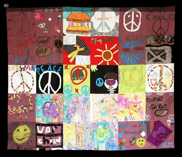 Art - Handmade Tapestries: Benefit of War Child-NL-No 23