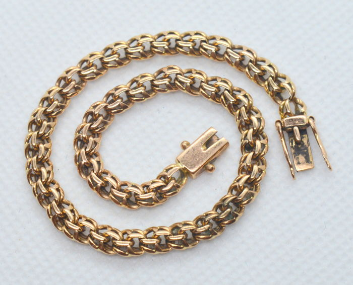 14 ct. / 585 Men's Gold Bracelet 'Bismarck',