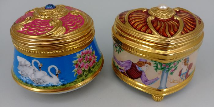 2 House of  Fabergé Music Boxes