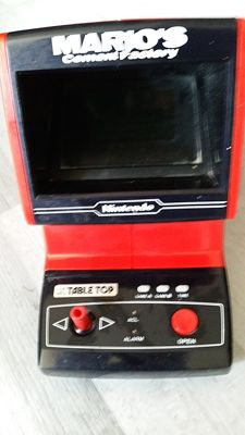 Game & Watch Tabletop Super Cement Factory