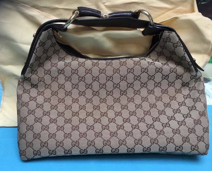 af667b0d337d Gucci Horsebit Hobo SHoulder Bag - Catawiki