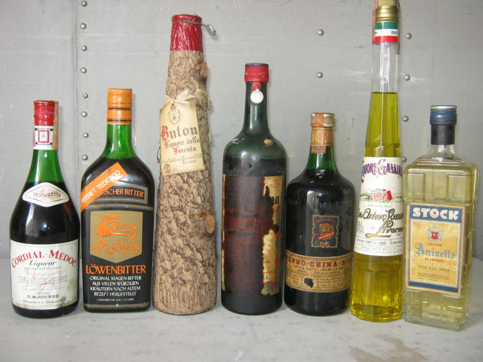 7 Liqueurs From Different Time Periods Cordial Lowe In Catawiki