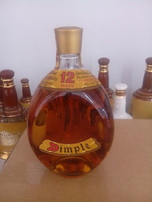 Haig's Dimple 12 Year Old  Bottled 1980s - 75cl