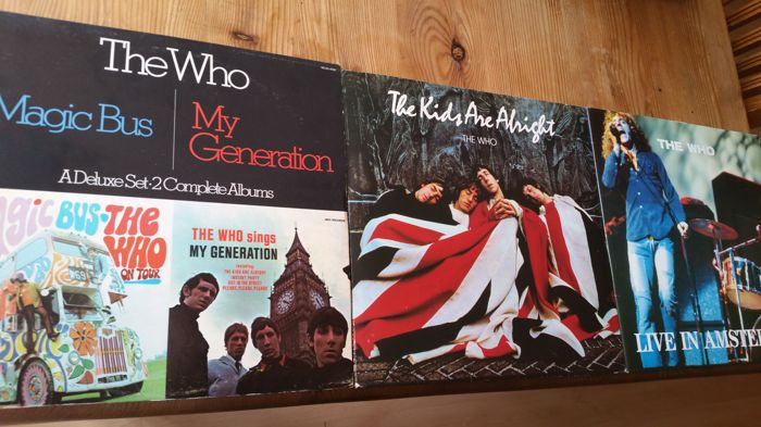 3 Double  Albums/ 6 records  made by THE WHO