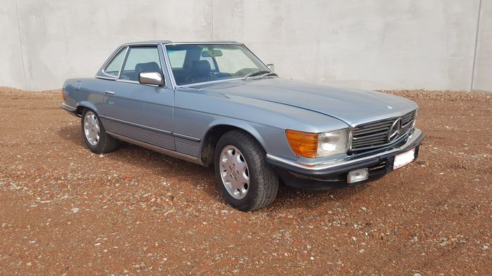 Mercedes-Benz - R107  380SL - 1981