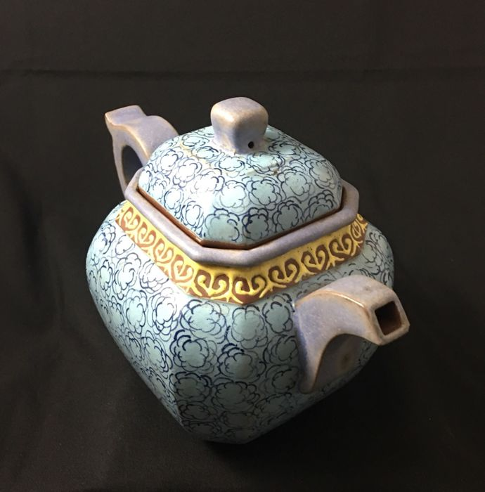Zisha clay teapot - China - Republic period (1912-1949)