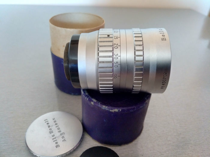 Bell & Howell Angenieux 3 Inch (75mm) f2.5 Lens C Mount - France