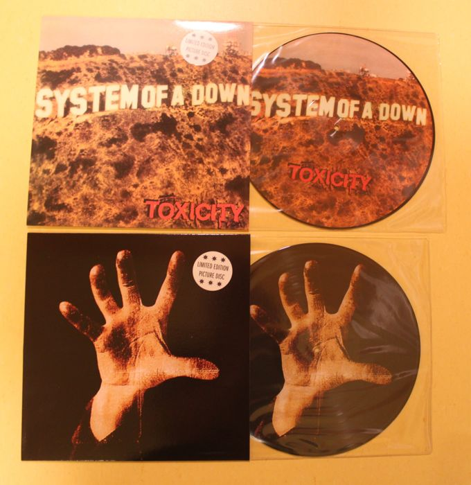 System Of A Down - 2 limited edition picture discs, unofficial releases