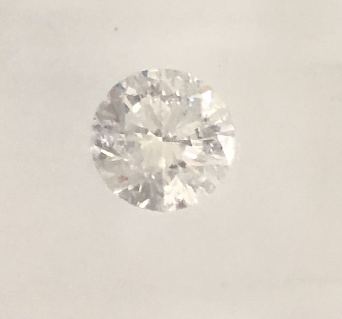 0.70ct Round brilliant - cut Diamond Natural F Si2