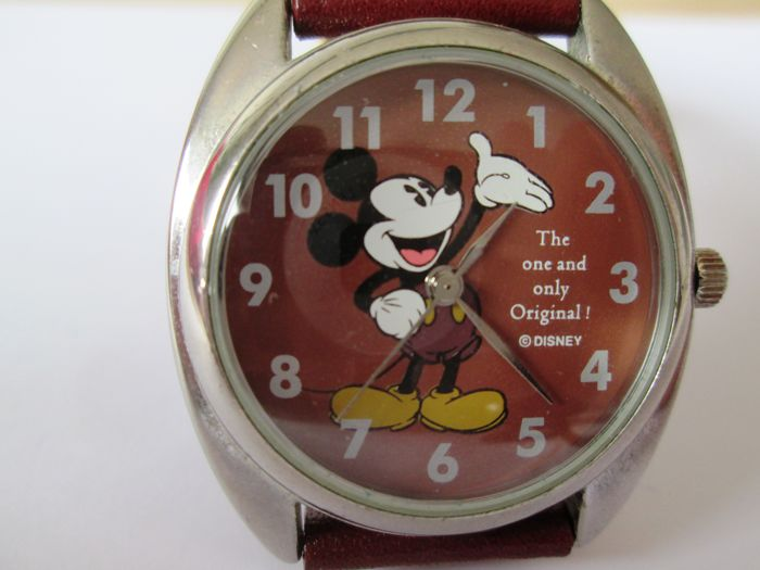 "Disney, Walt - Watch - Mickey Mouse - ""The one and only original""- (1990)"