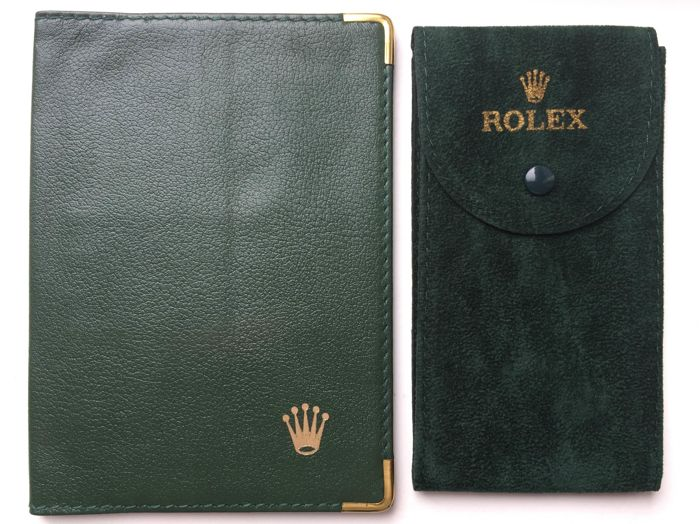 Rolex Wallet and Rolex Travel Pouch