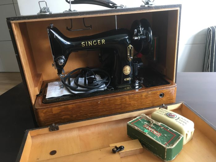 Singer sewing machine - 99K - 1955