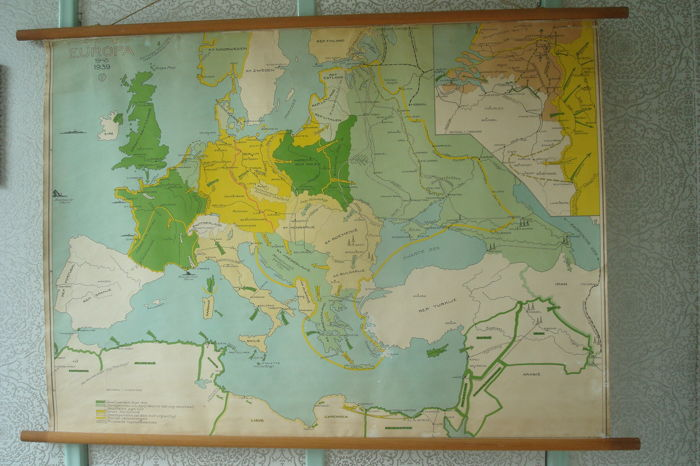 Wall map \