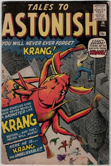 Tales To Astonish #14 - Marvel Comics - (1966)