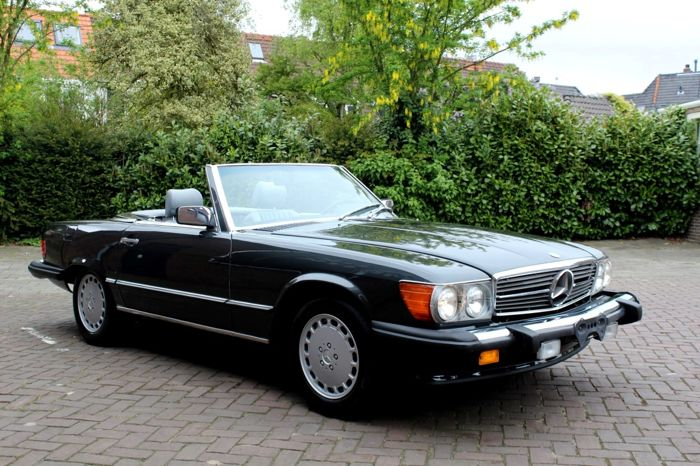 Mercedes Benz R107 560sl Usa 1989 Catawiki