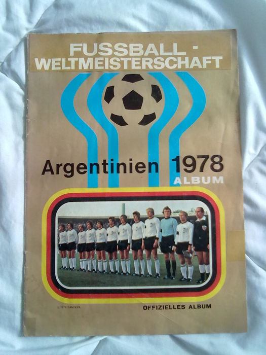 Variant Panini - World Cup Argentina 1978 - complete scrapbook.