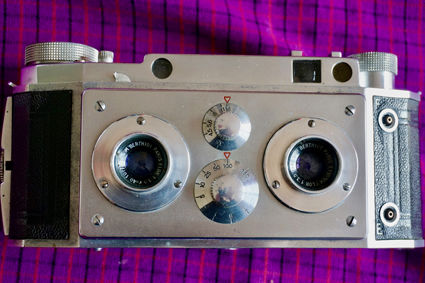 Stereoscopic camera Jules Richard F40