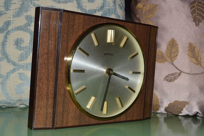 Wamda Wall Clock - 1960s- 1970s Made in (West) Germany