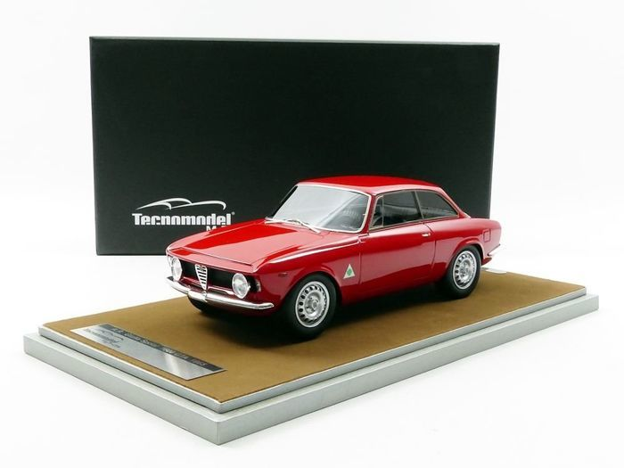 Tecnomodel Mythos - 1:18 - Alfa Romeo Giulia Sprint 1600 GTA 1965 - Limited Edition or 150 PCs.