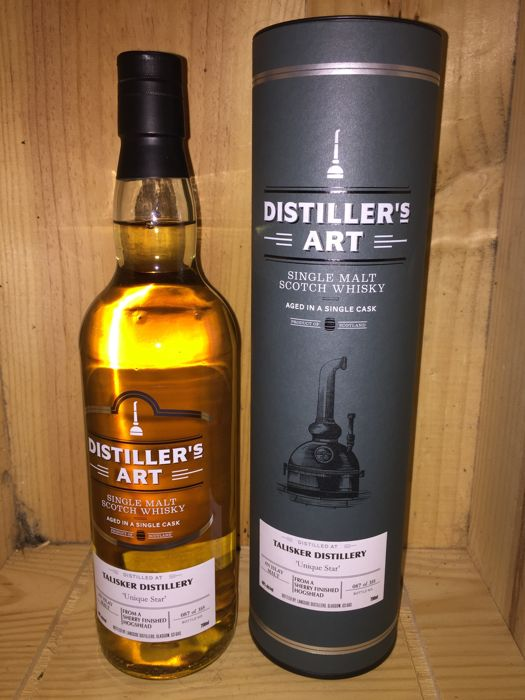 Talisker 'Unique Star' from a sherry finished hogshead - Distiller's Art