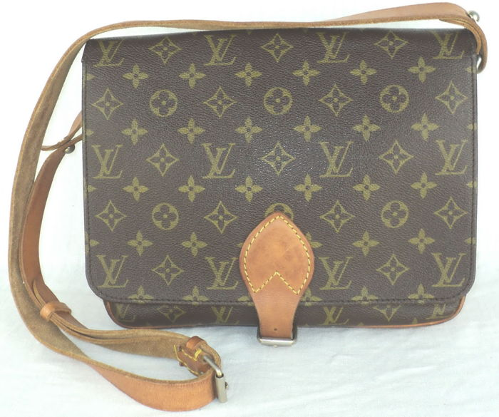 Louis Vuitton - Monogram Cartouchiere GM Crossbody Shoulder Bag - Vintage