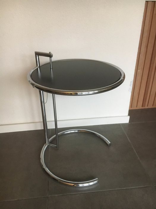 eileen gray by classicon adjustable table e 1027