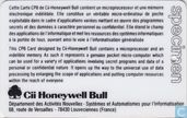 Phone cards - Cii Honeywell Bull - Systemes et automatismes pour l'informatisation