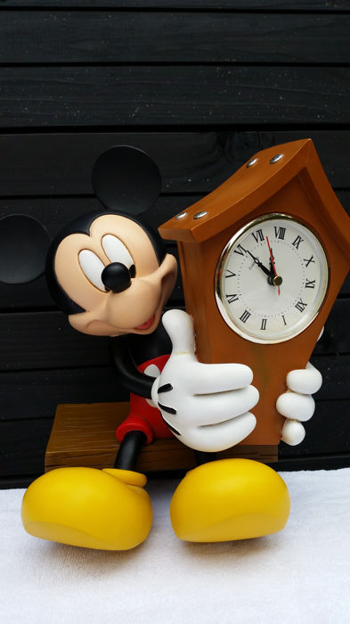 Disney, Walt - Figure - Mickey Mouse clock (1980s/90s)