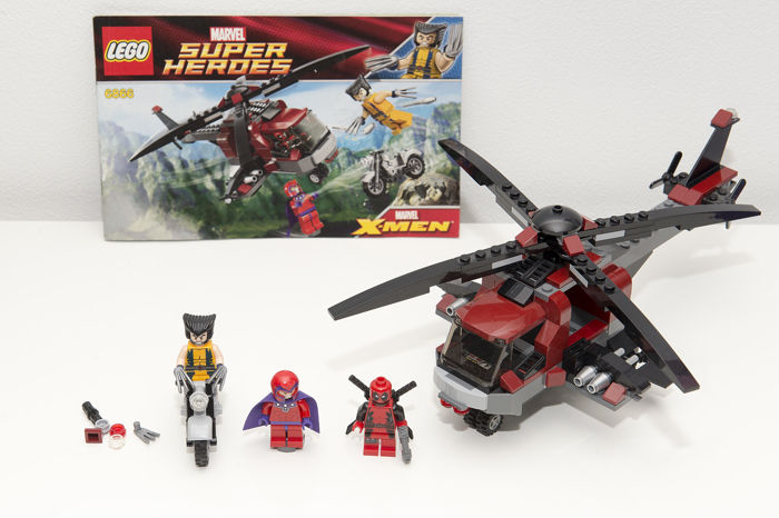 Super Heroes 6866 Wolverines Chopper Showdown Rare Catawiki