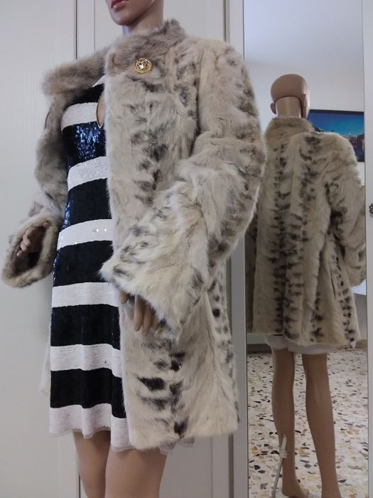 Pelliccia di visone black cross Giacca / cappotto - Coat, Fur coat, Jacket
