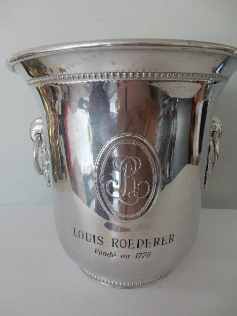 "Very nice champagne bucket ""LOUIS ROEDERER"" Collector - Rare - France"