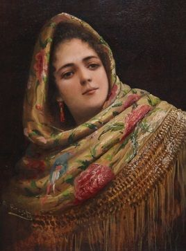 Image result for Spanish painting 1860