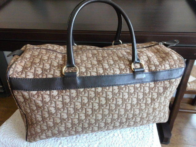 Christian Dior *** No Reserve Price *** - Grote Boston reistas