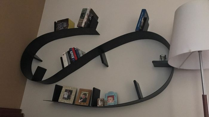 Ron arad for kartell bookworm bookcase length: 5.20 metres