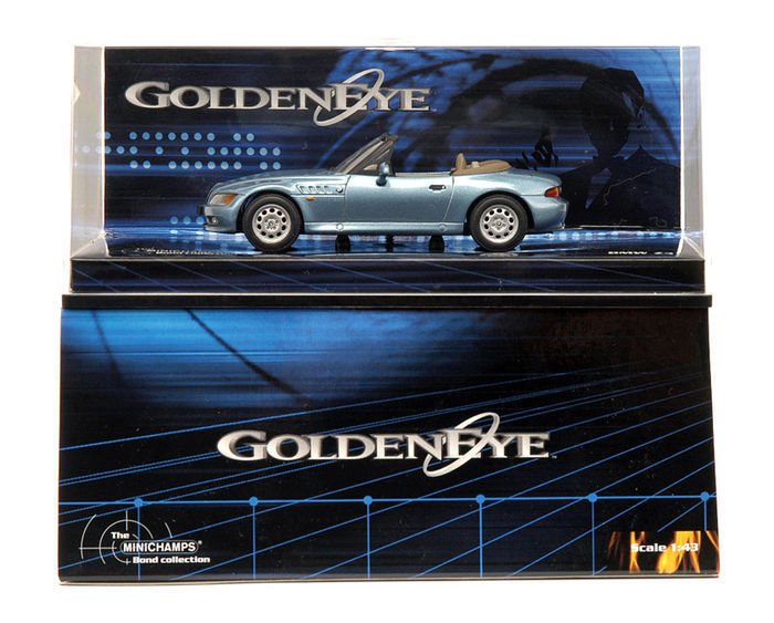 Minichamps 1 43 Bmw Z3 Goldeneye James Bond Catawiki