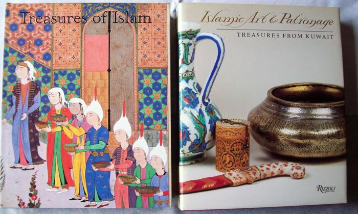 Lot with 3 Books on Islamic Tribal Art Forms-1985/1993.