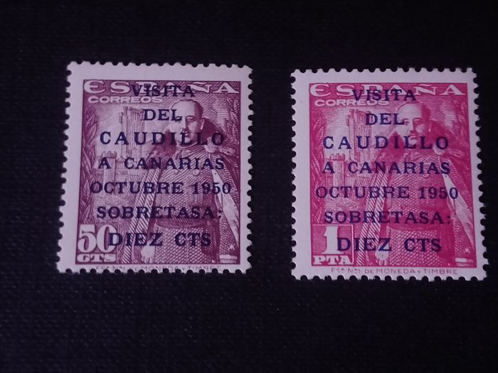 Spain 1951 - The Caudillo visit to the Canary Islands