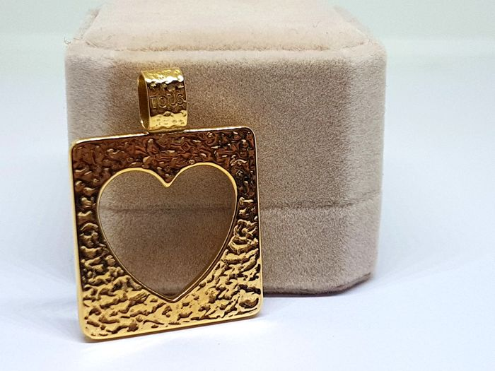 Tous - Pendant in 18 kt gold, heart