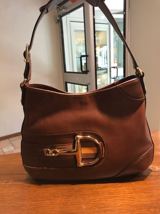 6aba7ebbf7c107 Gucci - Horsebit Hobo Shoulder bag - Catawiki