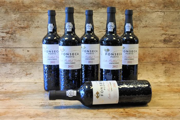 2012 Late Bottled Vintage Port - Fonseca Unfiltered - 6 bottles