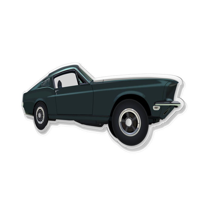 Decoratief object - SL-Halmo Collection Mustang GT Bullit
