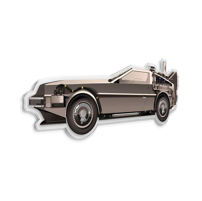 Decoratief object - SL-Halmo Collection Delorean Back to the Future